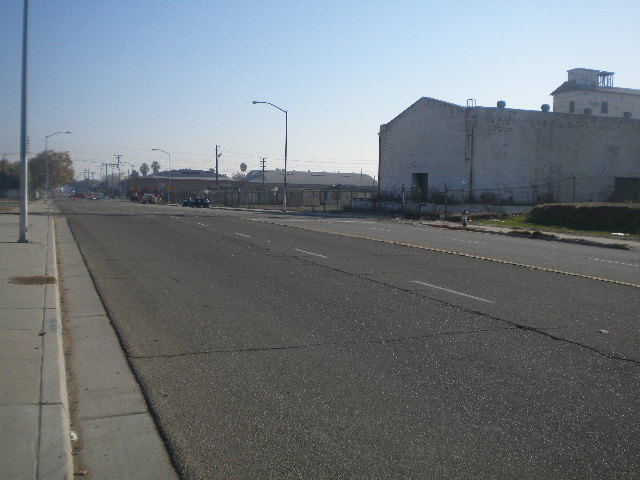 All cement, brick, and asphalt, with barely a tree or plant in sight
