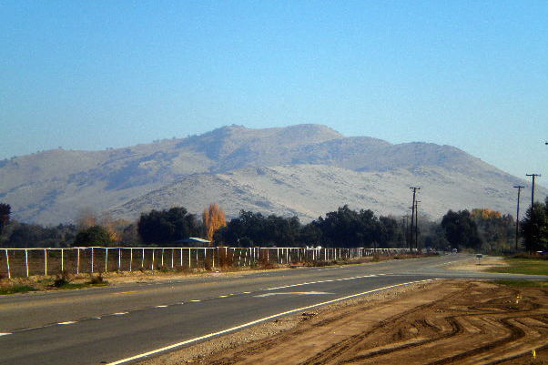 Ladies and gentlemen, the foothills of the Sierra Nevadas