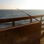 Lone Pole on a Pier